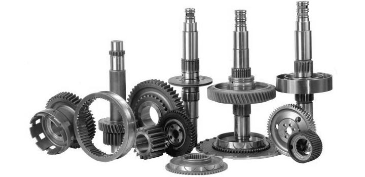 Services for the manufacture of gears, shafts, gear wheels